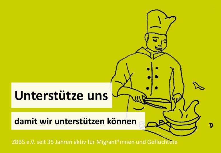 Mit deiner Unterstützung können wir Menschen unterstützen, damit sie auch in Deutschland in ihrem erlernten Beruf arbeiten können.