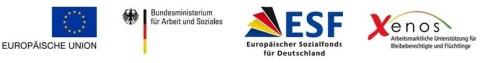 Das Projekt BeIn wird gefördert von der Europäischen Union, dem Bundesministerium für Arbeit und Soziales, dem Europäischen Sozialfond für Deutschland und Xenos.